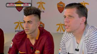 Highlights from AS Roma's FIFA 17 Challenge: Team Szczesny v Team El Shaarawy