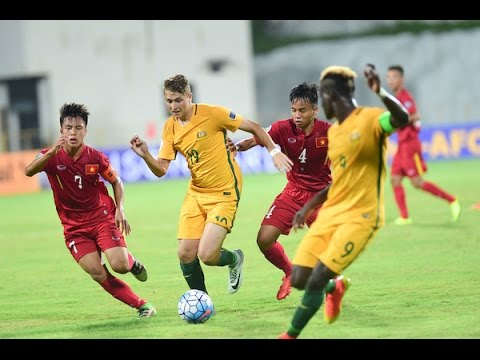 Video: U16 Việt Nam vs U16 Australia