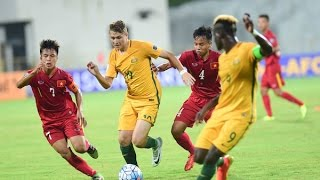 Vietnam vs Australia (AFC U-16 Championship 2016: Group Stage)