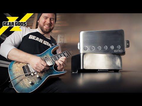Let's Try The EMG 57/66 TW Pickup Set! | GEAR GODS