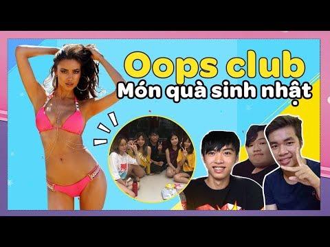 Quà SN siêu bựa đến từ các thánh youtuber nổi tiếng lầy lội: Cris devil gamer & Oops club