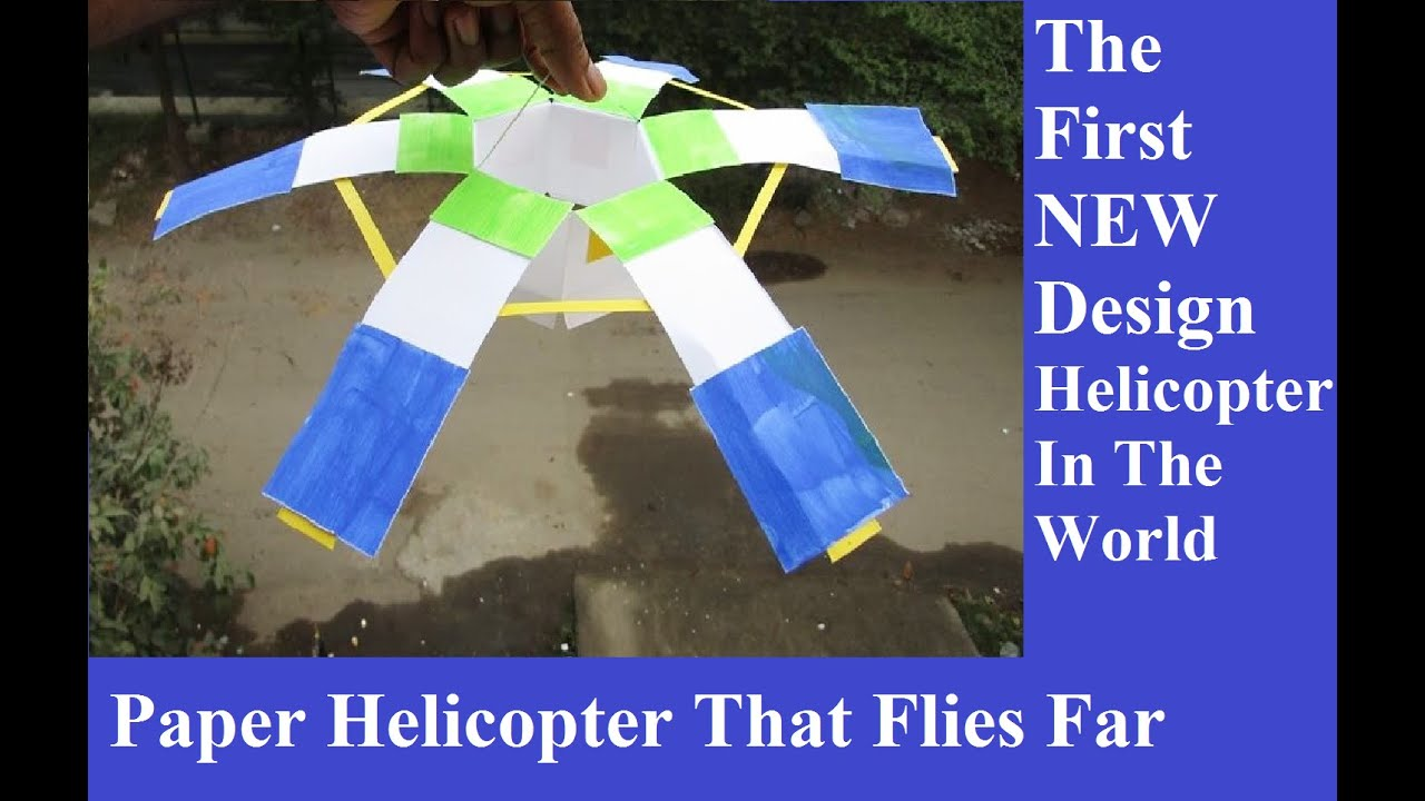 How to make a paper helicopter that flies - YouTube Paper Helicopter Lab Report on paper helicopter lab activity, paper helicopter lab results, paper airplane lab report,