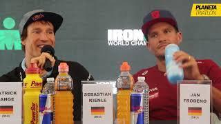 Rueda de prensa Kona 2017 - Sebastian Kienle y Jan Frodeno