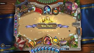 "Hearthstone: Tavern Brawl, ""Pick a Hand Any Hand"" Mage (Catalog: Boomsday / September 2018)"