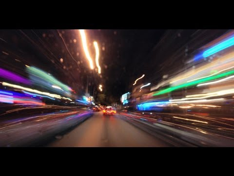 Timelapse Car Driving Fast Free Download