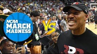 LAVAR BALL & THE BALL FAMILY vs. NCAA BASKETBALL!