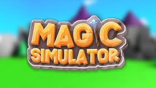 magic simulator oynadık para kastık/ROBLOX Magic Simulator/Amacsız Polat