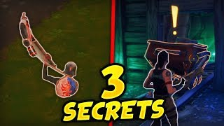 3 BUGS SECRETS HIDDEN OF THE NEW MAP (Fortnite Battle Royale)
