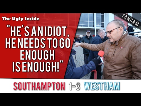 """He's an idiot he needs to go, enough is enough"" 