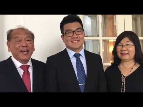Interview with President Scholarship recipient Lee Tat Wei