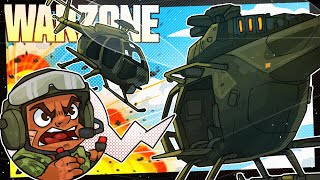 The Worlds Greatest Helicopter Battle - Call of Duty Warzone!