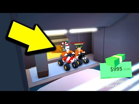 ROBBING THE BANK WITH ATVS (Roblox Jailbreak)