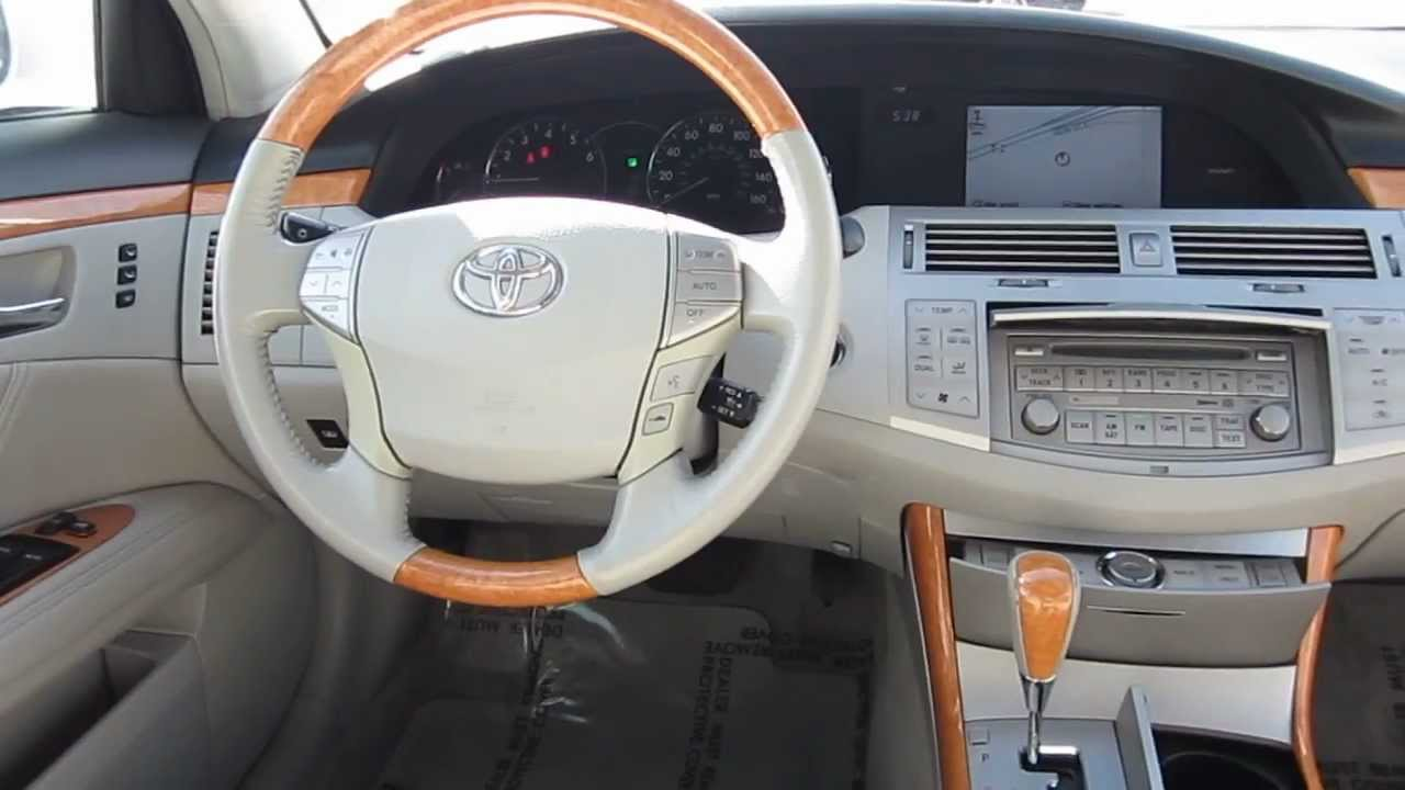 2007 toyota avalon white stock h2049 interior youtube. Black Bedroom Furniture Sets. Home Design Ideas