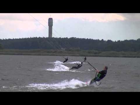 Kiting-Benny Kitesurfing Rangsdorfer See Flysurfer Speed 3 12 m²