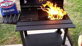 How To Light A Bbq Charcoal Barrel Grill