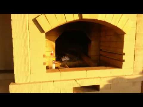 Уличный комплекс русская печь мангал казан своими руками
