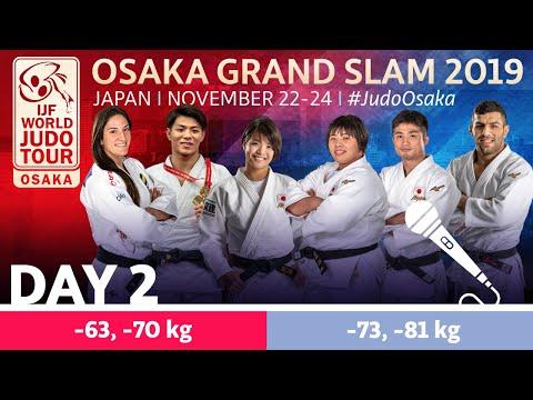Judo Grand-Slam Osaka 2019: Day 2 Commentated
