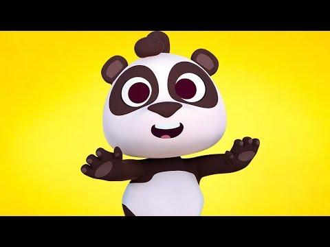 Мишка панда - детские песни  | Детское Королевство