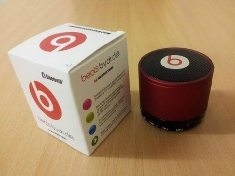 Monster beats mini bluethooth speaker на русском youtube.
