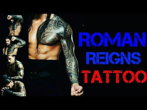 Roman Reigns Tattoo Designs