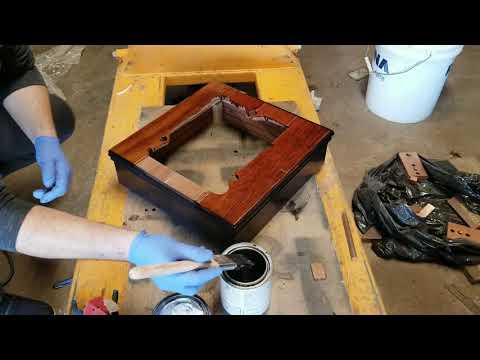 Custom turntable plinth. Dual 1009. Part 4 of 4.