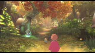 Ni No Kuni - Wrath Of The White Witch - PS3 - Golden Grove Gameplay video