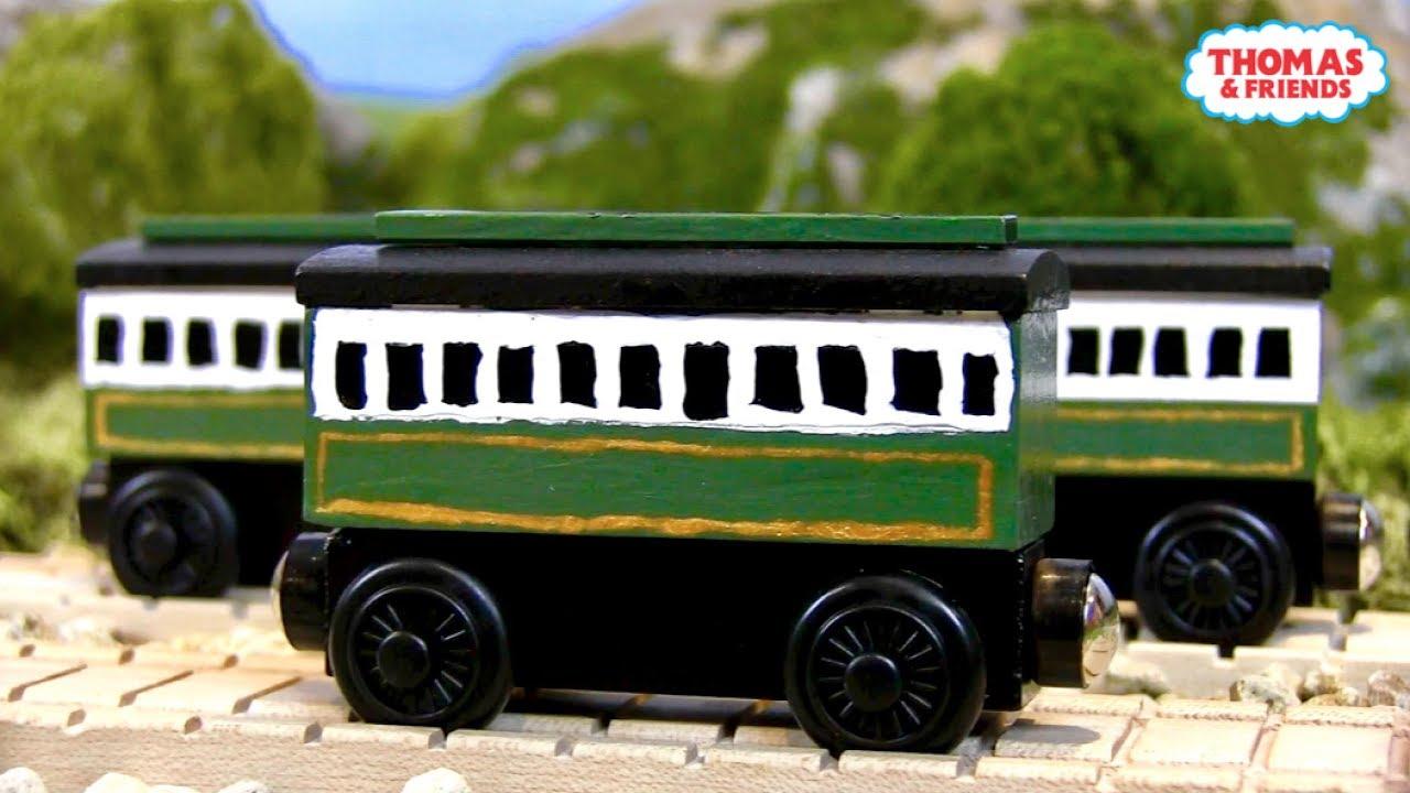 Old Coachesemilys Coaches Custom Thomas Wooden Railway Model 3 By Turtlesandthomas