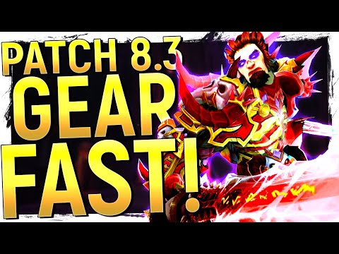 Titanforging Is DEAD! Patch 8.3 Gearing Guide - Get 460+ & How Vision Gear REALLY Works!