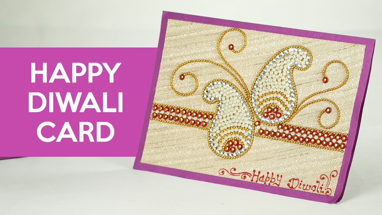 Diwali Cards Making How To Make Handmade Greeting Cards Youtube