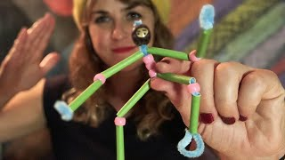 Ninja pipe cleaner craft - with Lolly Hopwood