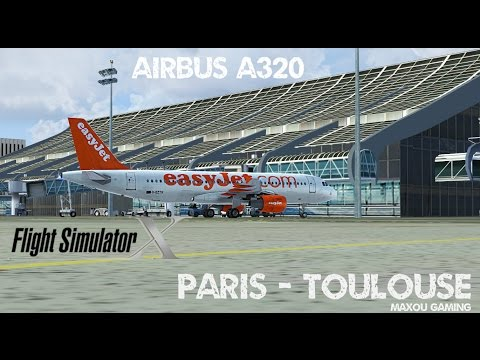 Flight Simulator X | Paris Charles de Gaulle - Toulouse Blag