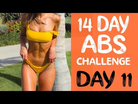 14 DAY ABS CHALLENGE | Workout 11 | Lower Abs Burner
