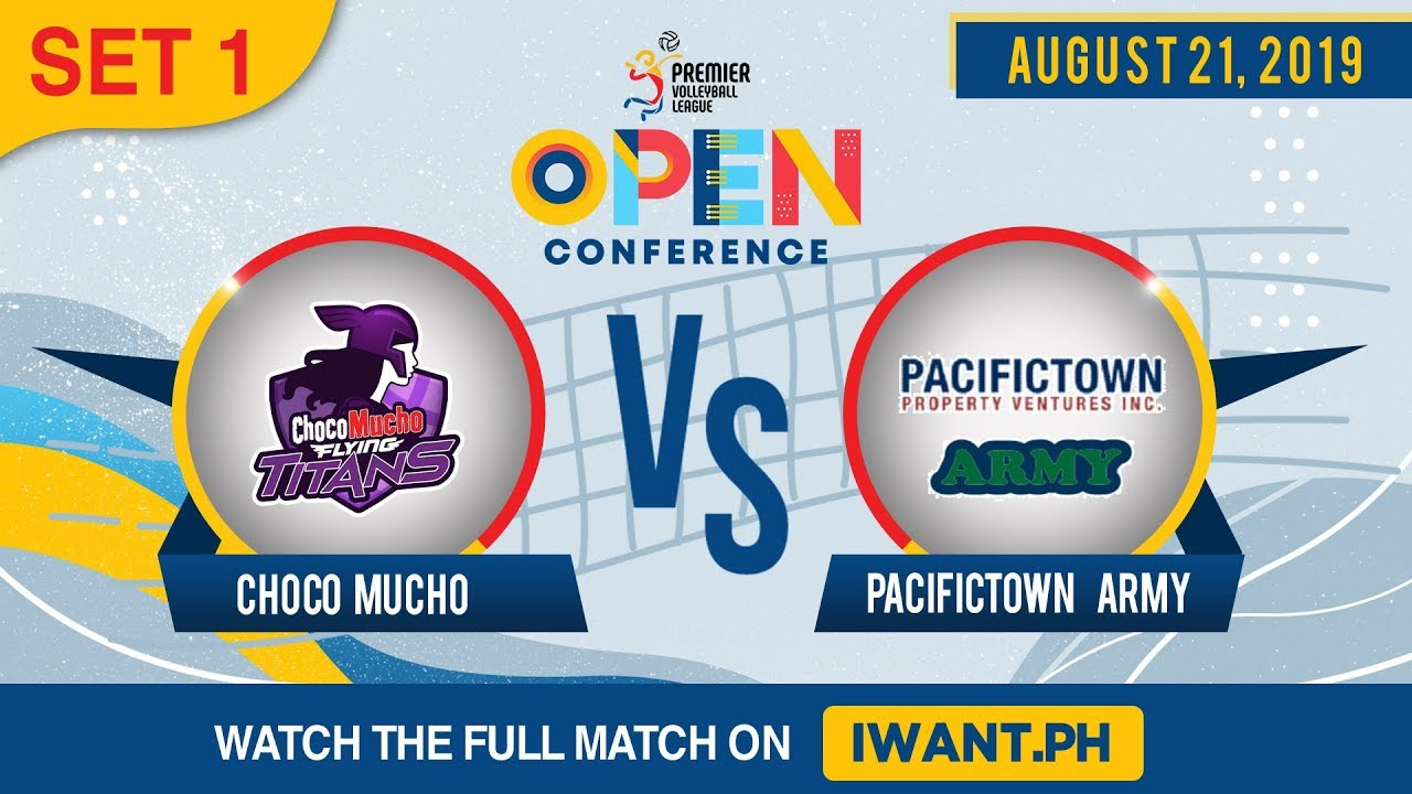 SET 1 | Choco Mucho vs. PacificTown-Army | August 21, 2019(Watch the full game on iWant.ph)