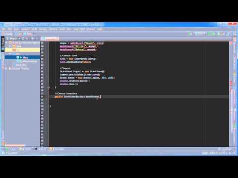 JavaFX Java GUI Tutorial - 16 - TreeView