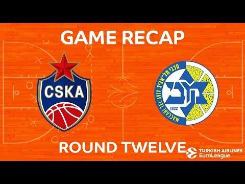 Highlights: CSKA Moscow - Maccabi FOX Tel Aviv