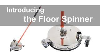 Floor disinfection? Floor Spin…