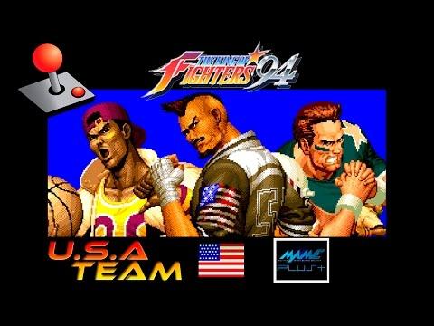 KOF 94 Arcade - USA Team