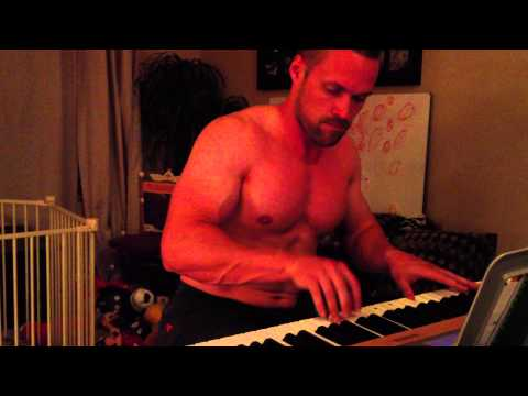 Chris Powell Playing the Piano