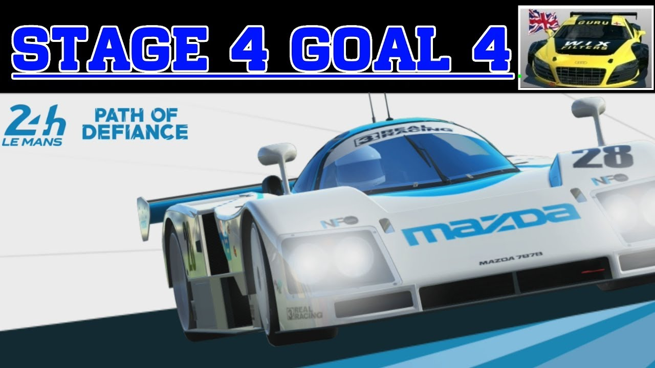 Real Racing 3 Path Of Defiance Stage 4 Goal 4 Rr3 Mazda 787b