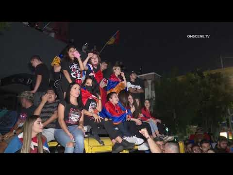 Armenian-American Protestors Take to Streets In Hollywood