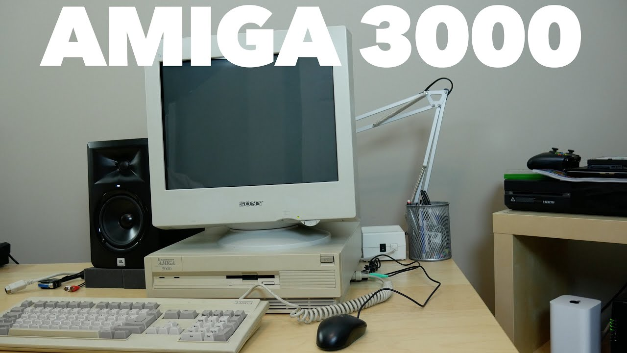 Tales from the editing room floor: My Amiga 3000 - YouTube