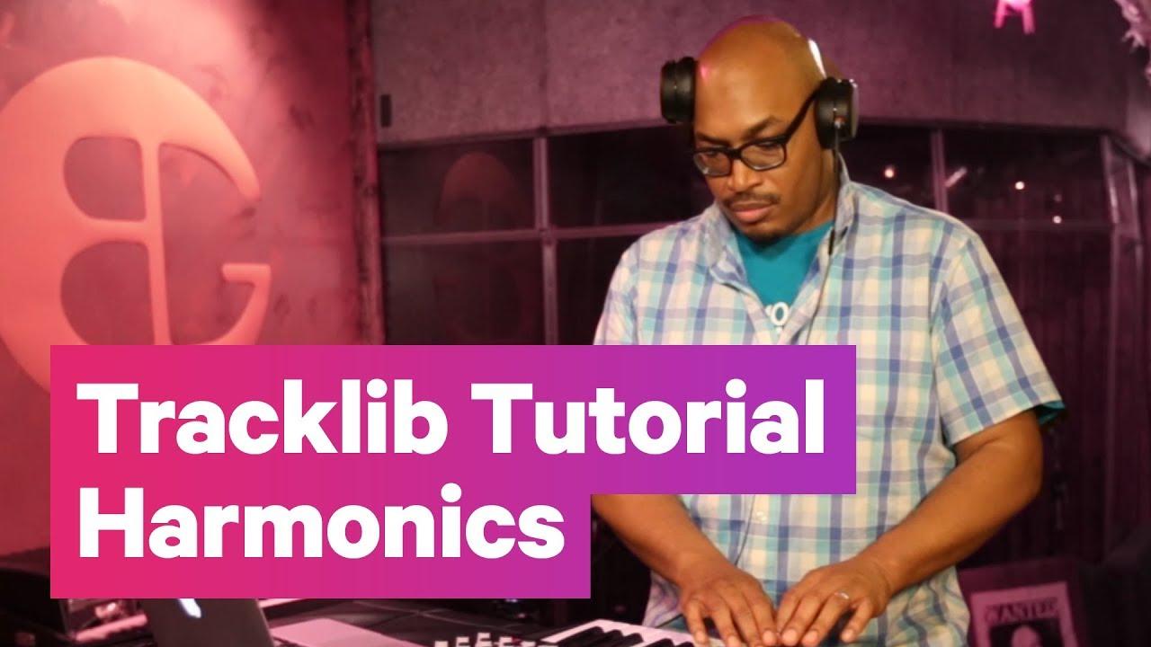 Tracklib Sampling Tutorial #2: Harmonics