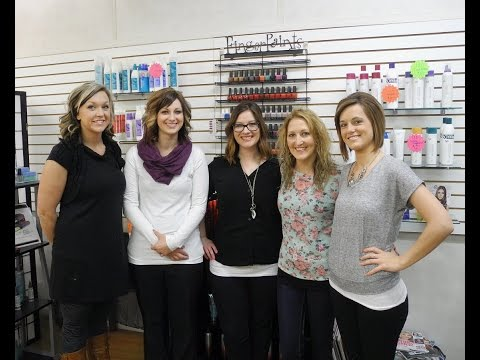 Faces of Downtown Greenville - Tangles Hair & Nail Salon
