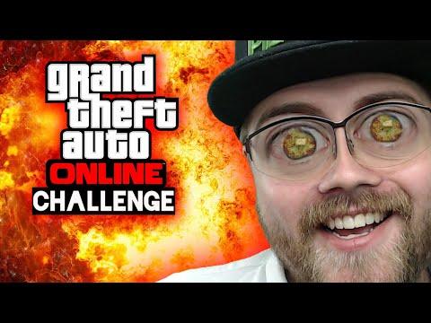 Challenge: Autos explodieren lassen 🎮 Grand Theft Auto Online #176