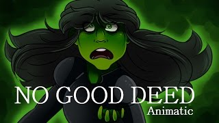 Video No Good Deed - Wicked Animatic download MP3, 3GP, MP4, WEBM, AVI, FLV September 2017
