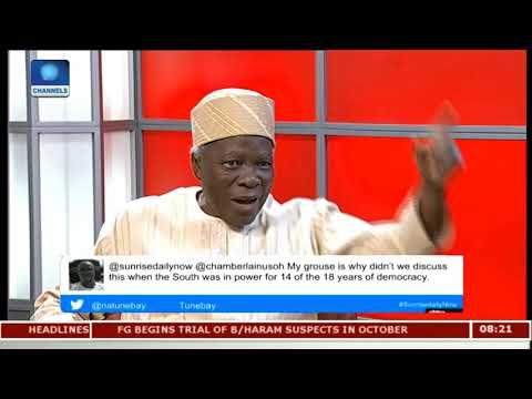 Restructuring: Nigeria Needs Stronger Federating Units - Prof. Akintoye Pt.2 |Sunrise Daily|