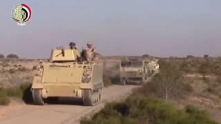 القوات المسلحة تشتبك مع مجموعة إرهابية شديدة الخطورة بشمال سيناء وتقتل 6 تكفيريين.. فيديو