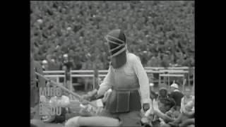 1934 Chinese Sabre versus Bayonet Fencing - Nanjing -China