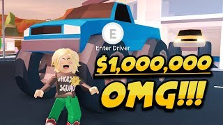 buying the monster truck 1 000 000 ferrari and mustang new cars roblox jailbreak new update
