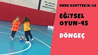 Eğitsel Oyun 45  Döngeç (Beden Eğitimi ve Spor)